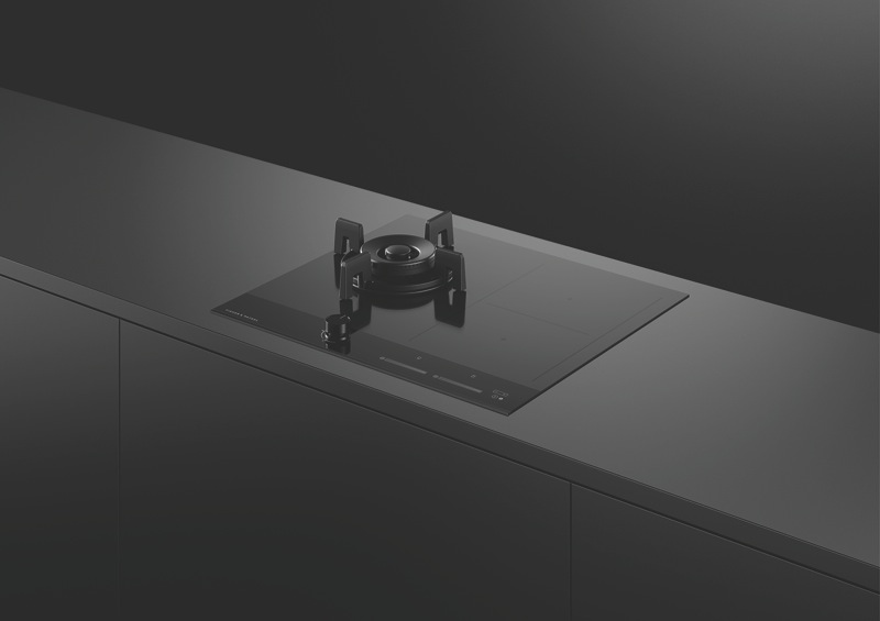 Fisher & Paykel 60cm Dual Fuel Cooktop - Black CGI603DNGTB4