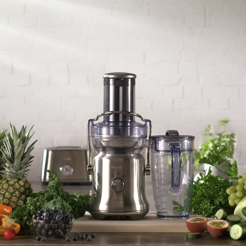 Breville The Juice Fountain Cold Plus Juicer - Brushed Stainless Steel BJE530BSS