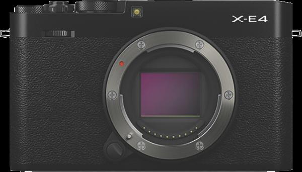 Fujifilm X-E4 Mirrorless Camera (Body Only) – Black 74416