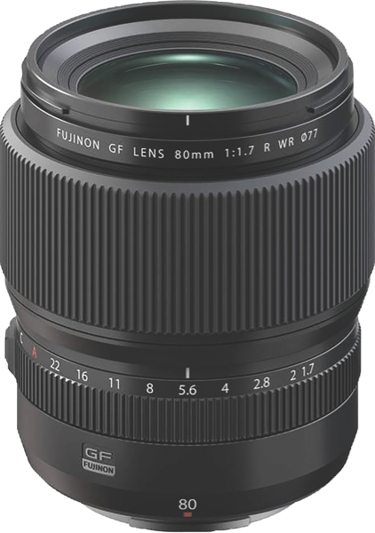 Fujifilm GF80mm F1.7 R WR Camera Lens 74404