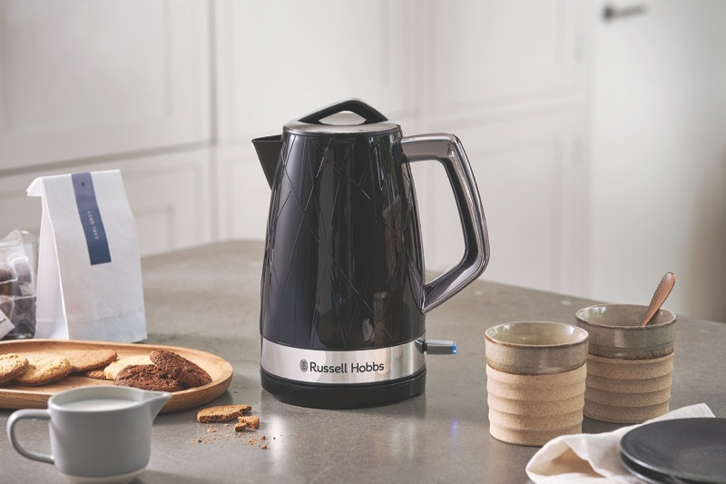 Russell Hobbs Structure 1.7L Kettle - Black RHK332BLK