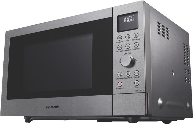 Panasonic 27L 1000W Convection Microwave - Stainless Steel NNCD58JSQPQ