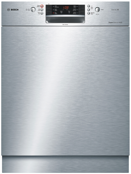 Bosch 15 Place Setting Built Under Dishwasher SMU66MS02A