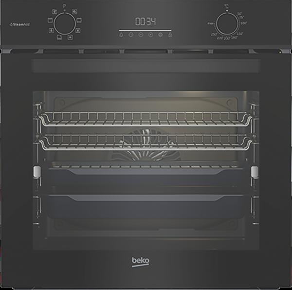 Beko 60cm Built-In Oven - Dark Stainless Steel BBO6851MDX