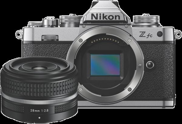 Nikon Z fc Mirrorless Camera - Black + Z 28mm Lens Kit VOK090WA
