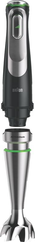 Braun MultiQuick 9 Hand Blender - Black MQ9187XLI