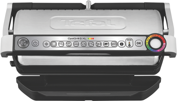 Tefal OptiGrill+ XL Grill - Stainless Steel GC722