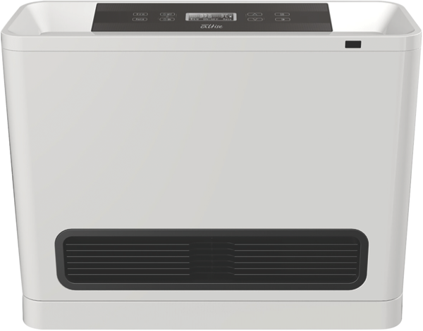 Omega Altise 6.1kW Natural Gas Portable Convector Heater – White OAGCH25NGW