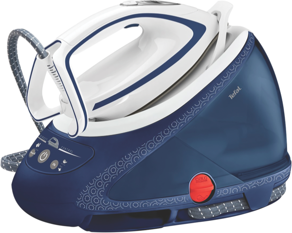 Tefal Pro Express Protect Iron + Steamer Station - White & Blue GV9222