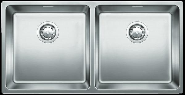 Blanco Double Bowl Undermount Sink with Overflow ANDANO400400UK5