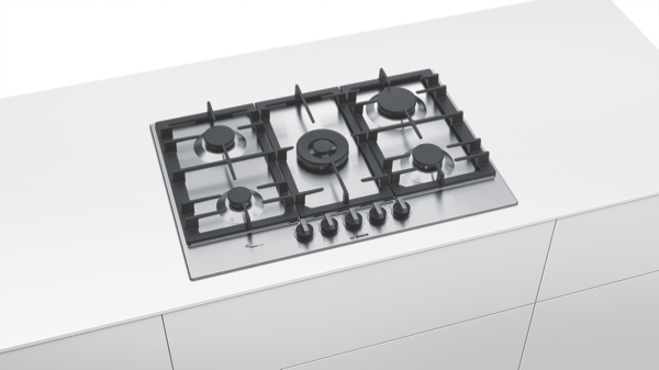 Bosch 75cm Series 6 Gas Cooktop PCR7A5B90A