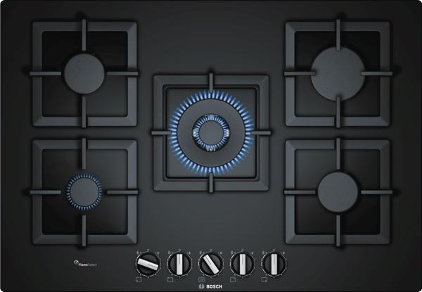 Bosch 75cm Series 6 Gas Cooktop PPQ7A6B20A
