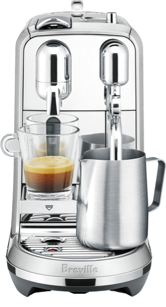 Breville Nespresso Creatista Plus Coffee Machine BNE800BSS