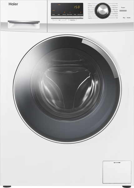 Haier 8kg Front Load Washer HWF80BW1
