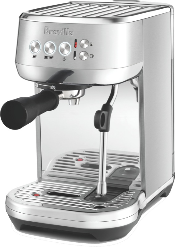 Breville Bambino Plus Pump Espresso Coffee Machine - Brushed Stainless Steel BES500BSS
