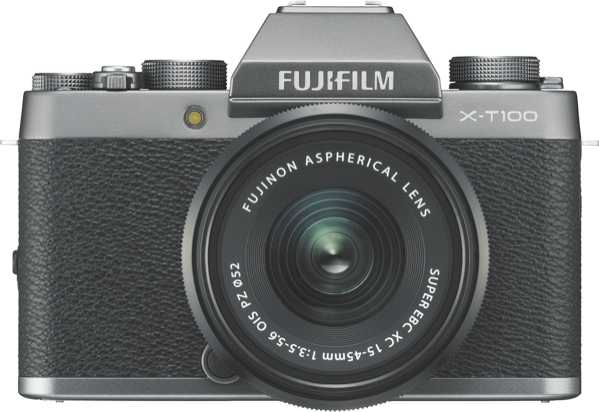 Fujifilm X-T100 Mirrorless Camera with XC 15-45mm Lens 74339