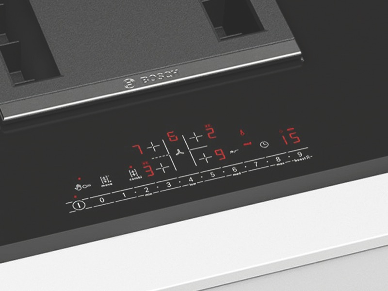 Bosch 80cm Induction Cooktop with Integrated Ventilation PVS851F21E