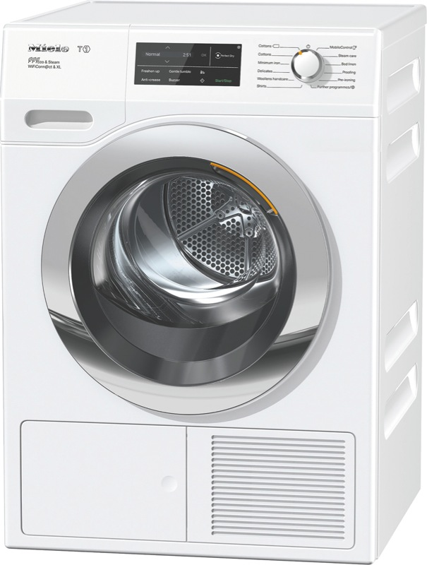 Miele 9kg Heat Pump Dryer TCJ690WP