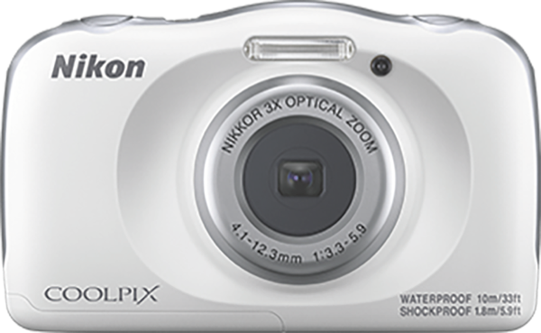 Nikon W150 White Coolpix Camera VQA110AA
