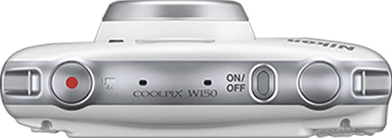 Nikon W150 White Coolpix Camera VQA110AA