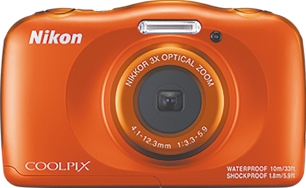 Nikon W150 Orange Coolpix Camera VQA112AA