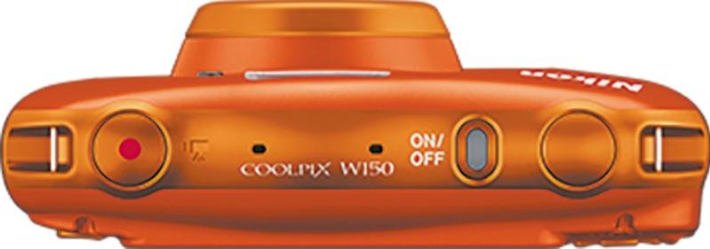 Nikon W150 Orange Coolpix Camera VQA112AA