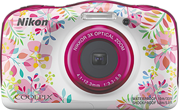 Nikon W150 Pink Coolpix Camera VQA113AA