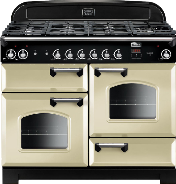 Falcon 110cm Dual Fuel Freestanding Cooker CLA110DFFCRCH