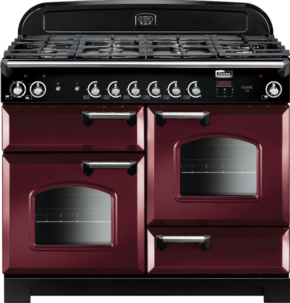 Falcon 110cm Dual Fuel Freestanding Cooker CLA110DFFCYCH